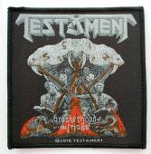 Testament - 'Brotherhood of the Snake' Woven Patch